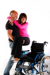 tragen gehbehindert