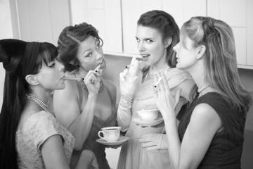 Women Smoking Cigarette