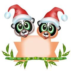 panda natalizi