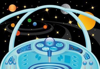 Spaceship interior in the universe