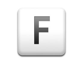 Boton cuadrado blanco letra F