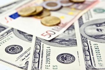 Dollars and Euroeuro