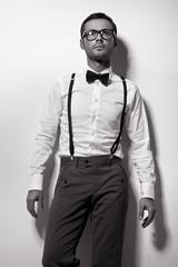Fashion man, vouge style