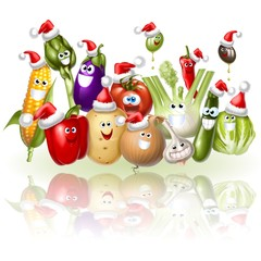Fototapete - verdure natalizie