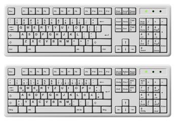 keyboard english / deutsch
