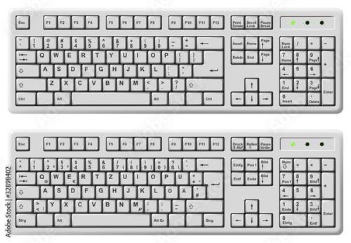 Tastatur Englisch Deutsch