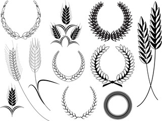 Laurel Wreaths Elements