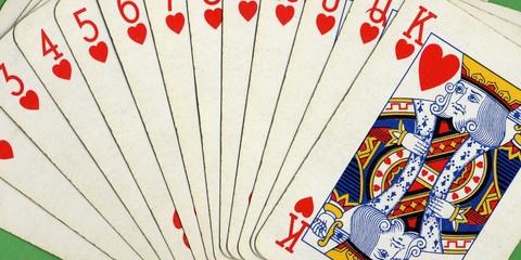 Pocker full scale cards