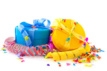 Colorful presents for birthday