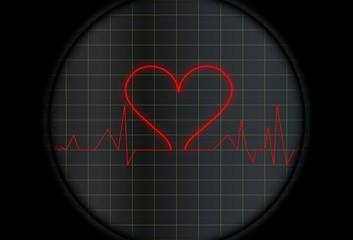 Electro con símbolo del corazón