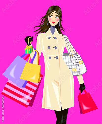 best loved 35802 ae6c0 ragazza che fa shopping