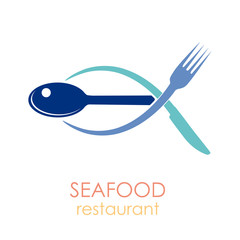Logo seafood restaurant # Vector