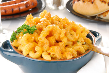 Gourmet macaroni and cheese
