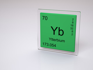 Search photos yb ytterbium symbol yb chemical element of the periodic table urtaz Gallery