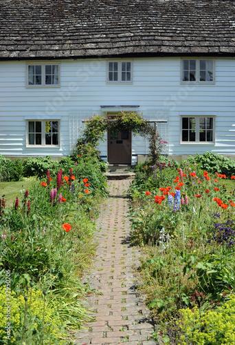 English Cottage Garden Path