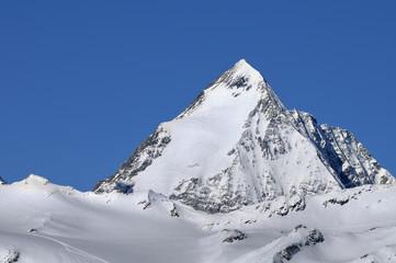 Gran Zebru' (Koenigspitze) mountain