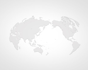 Acrylic Prints World Map 世界地図