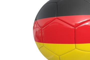 Germany soccer ball
