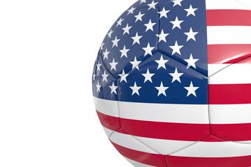 US soccer ball