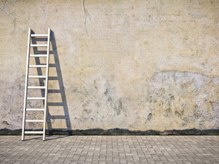 In de dag Graffiti Blank dirty grunge wall