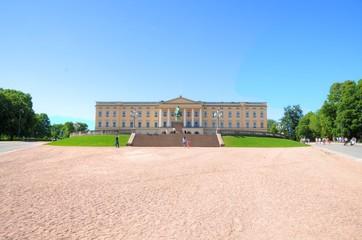 """Oslo (Norway) - Palace """"Slottet"""""""