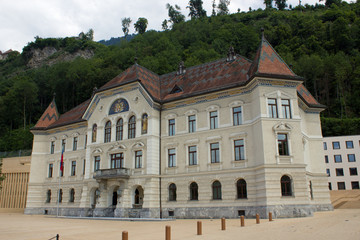 Regierungsgebäude Liechtenstein