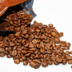 Aluminium Prints Coffee beans Café frais