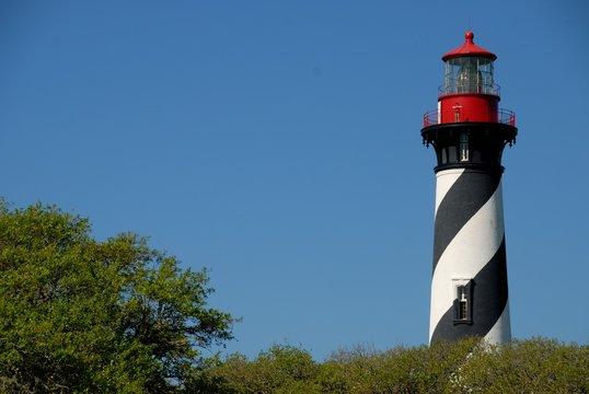 Historic St. Augustine Lighthouse Florida Usa