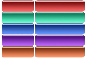 Internet web buttons
