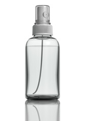 Sprayer medical bottle. 3d.