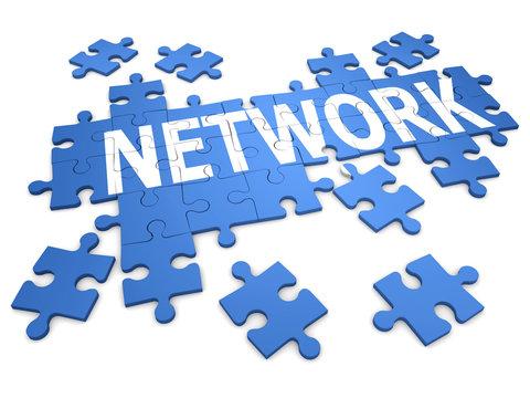3d Network puzzle