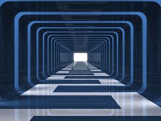 Blue corridor