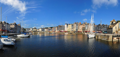 Stitched Panorama honfleur Fototapete