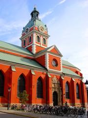 Saint James's Church, in central Stockholm, Sweden