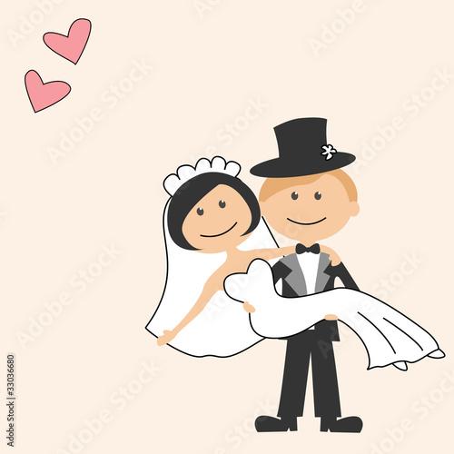 Свадьба веселый рисунок