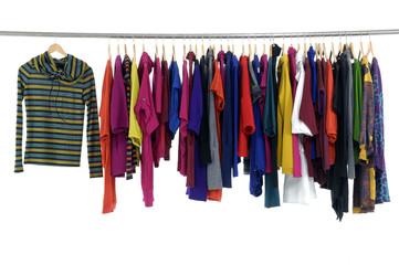 Fashion colorful clothing hanger