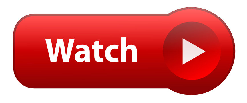 """""""WATCH"""" Web Button (play video live media player launch red)"""