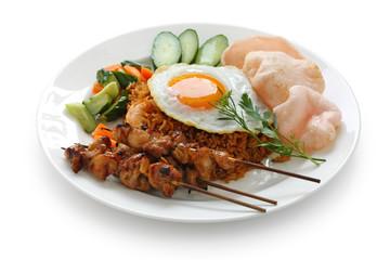 nasi goreng , indonesian fried rice dish