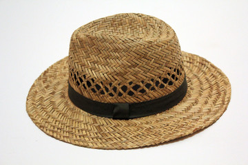 Summer hat isolated