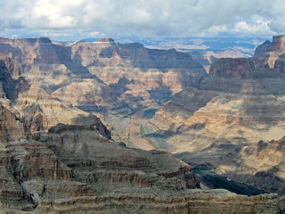 Grand canyon mountain diversity, rock heap, weather details