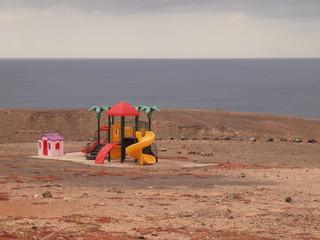 Spielplatz im Nichts