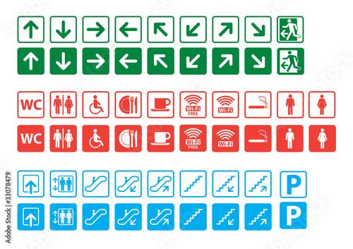 Мама Рома настенные знаки для обозначения коммуникаций семейный отдых