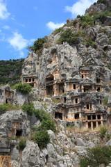 Myra, Felsgräber, Türkei