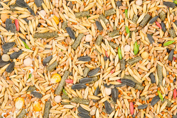 texture from cereals