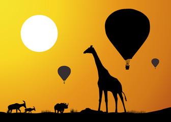 Montgolfiere_Girafe