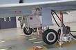 Fahrwerk Eurofighter Jet Wartung
