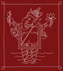 Folk Ganesh