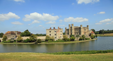 Beautiful Leeds Castle in the UK