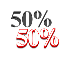 vector 50% discount  design