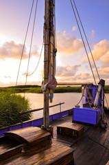 Fototapete - Fischerboot